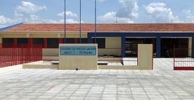 COLGIO11 Inscrições para Colégio da Polícia Militar em Petrolina devem ser abertas esta semana