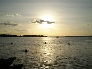 ilha rodeador Briga generalizada na Ilha do Rodeador deixa feridos e assusta banhistas e barraqueiros