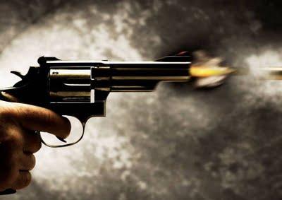 Resultado de imagem para revolver tiro