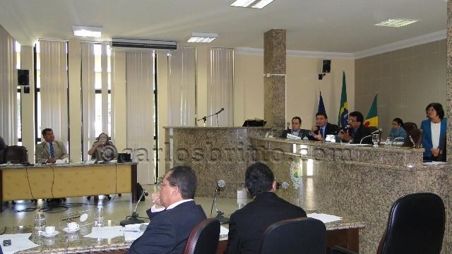 sessão casa plinio amorim Projeto que autoriza repasse do PMAQ a servidores da saúde em Petrolina gera controvérsia na Casa Plínio Amorim