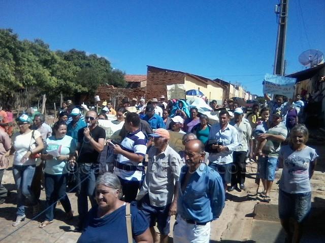Protesto Santa Filomena
