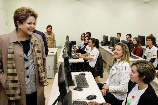 Dilma no sul