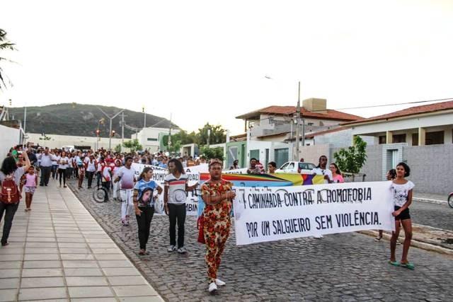 Caminhada Homofobia Salgueiro