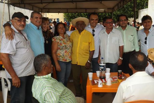 almoço odacy e adalberto 640x427 Em Santa Cruz, Odacy e Adalberto miram críticas no governo do estado
