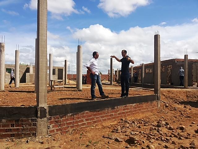 Escola 1 Construção de escolas na zona rural de Lagoa Grande em ritmo acelerado