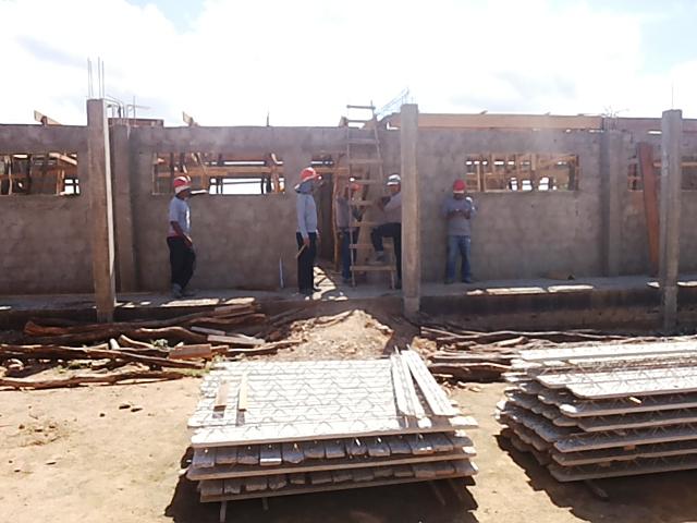 Escola 3 Construção de escolas na zona rural de Lagoa Grande em ritmo acelerado
