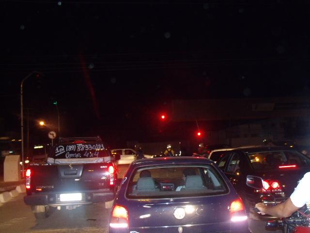 GEDC0122 Copia Após reclamações, semáforo da Avenida Horonato Viana volta a funcionar durante horário de pico
