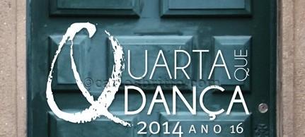 """quarta que dança 16ª edição do """"Quarta que Dança"""" selecionará 17 propostas de apresentação de espetáculos e intervenções"""