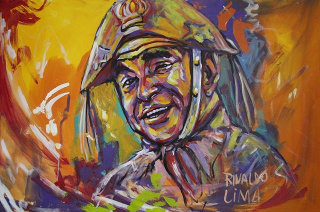 obra rinaldo lima 640x424 Em meio ao ritmo intenso do jornalismo, Rinaldo Lima prepara se para novo desafio nas artes plásticas