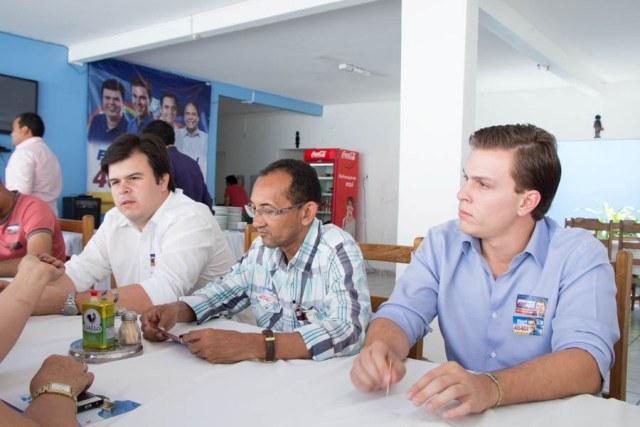 Chicôu 2 Presidente do STR oficializa apoio a Fernando Filho e Miguel Coelho