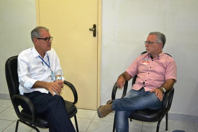 Dilson Facape Candidato a federal, Dilson Peixoto visita a Facape e discute possibilidade de implantar curso de Medicina na instituição