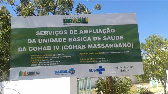 posto saúde cohab massangano1 Moradores da Cohab Massangano reclamam da morosidade em reforma de unidade de saúde no bairro