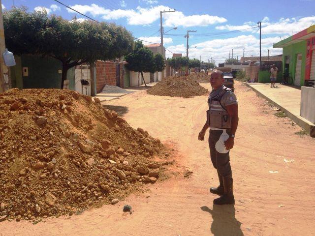 rua Após pedido de Edilsão, ruas da Vila Débora e Pedra Linda recebem melhorias