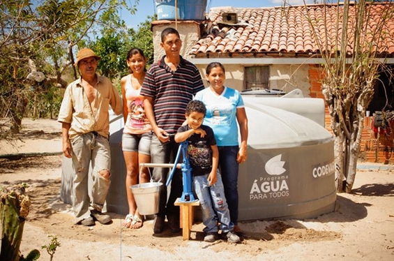 cisternas água para todos