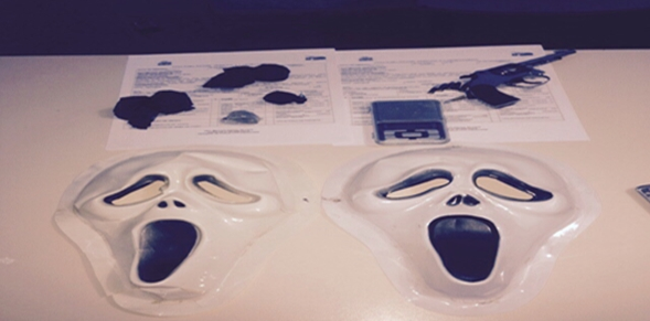 máscaras do pânico