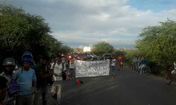 protesto estrada da banana