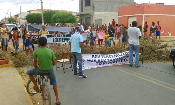 terceirizados manifestação