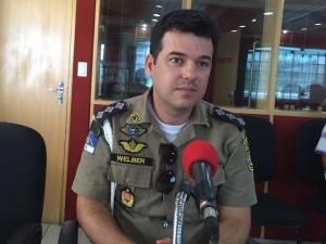 polícia. Welber Cavalcante