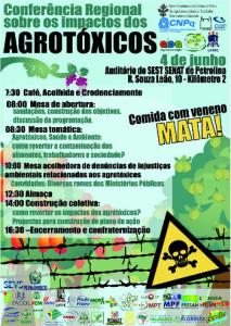 Cartaz agrotox