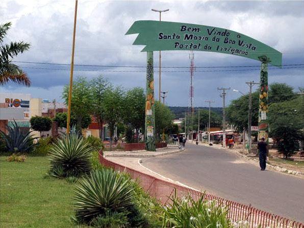 Santa Maria da Boa Vista/Foto reprodução Internet