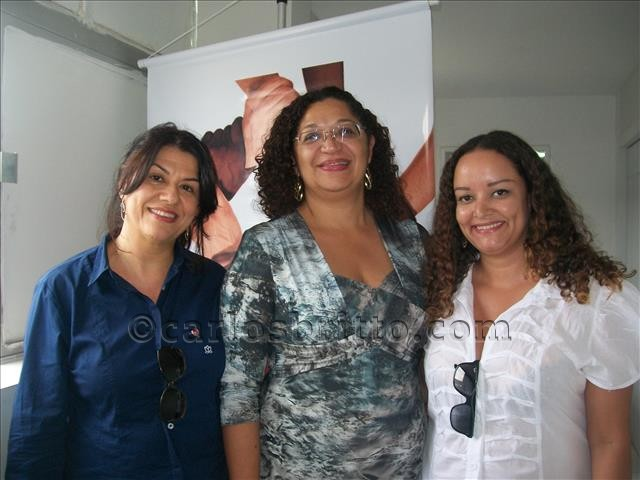 representantes UBM e delegada Lenise