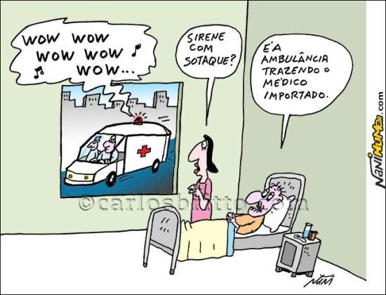 charge médicos