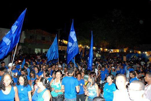 caminhada eliane (2)/Foto Ascom Coligação