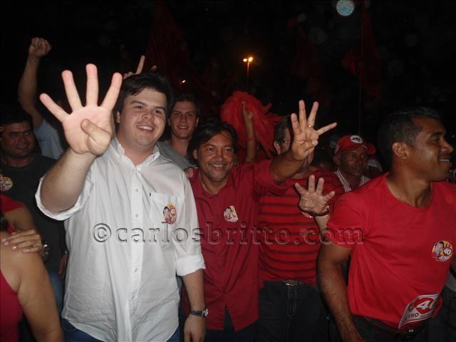 jetro em campanha/Foto: Fábio Cardoso