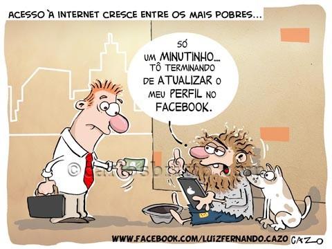Pobres-acesso-a-internet-por-Cazo