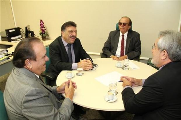 Reunião com desembargadores do TJPE