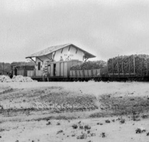 estação ferroviária rajada