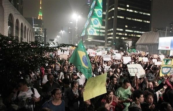 manifestações/Foto: AE