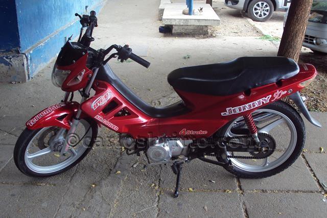 moto roubada/Foto: Ascom PC/divulgação
