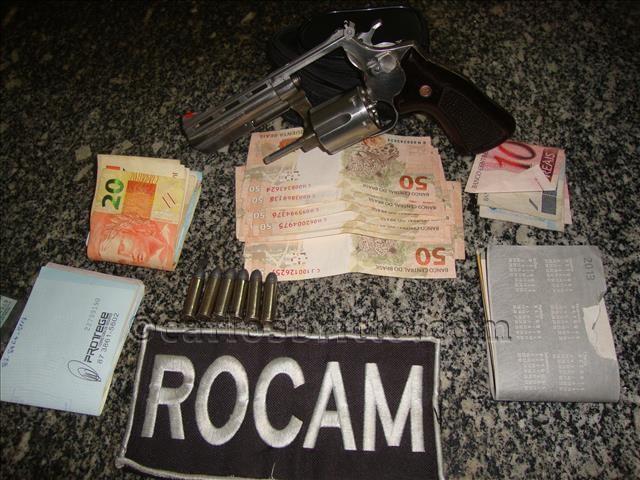 rocam prende acusado_640x480/Foto: 5º BPM