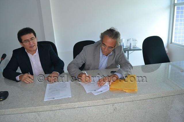 Assinatura convênio 1