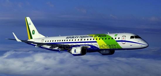 Avião FAB/Foto reprodução