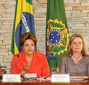 dilma e ministros/Foto divulgação