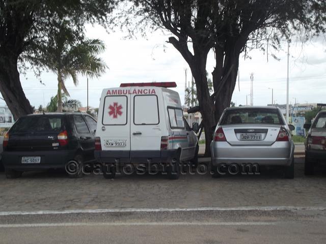 ambulância exu