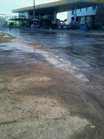 água desperdiçada vila eduardo