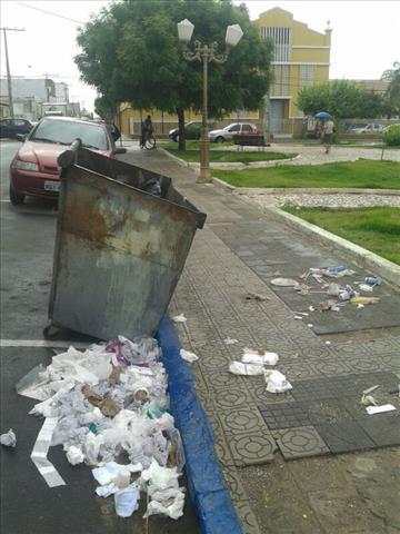 coletor lixo