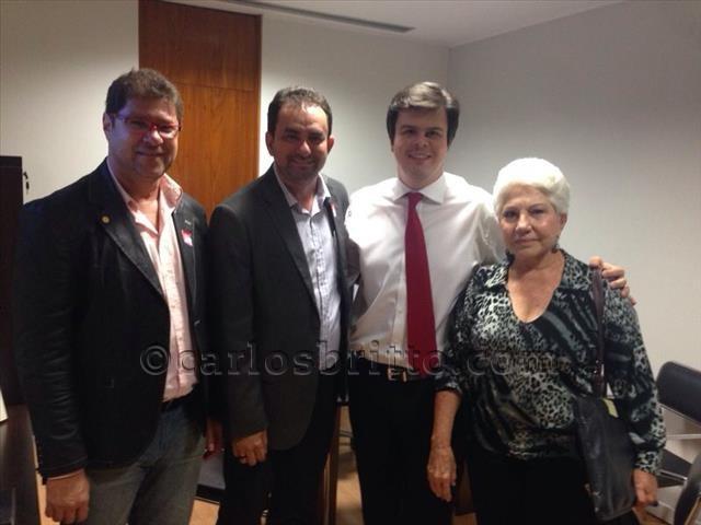 Fernando Filho e diretores UPE