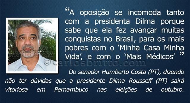 O que eles disseram Humberto Costa
