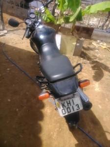 MOTO ROUBADA - KHI 0013