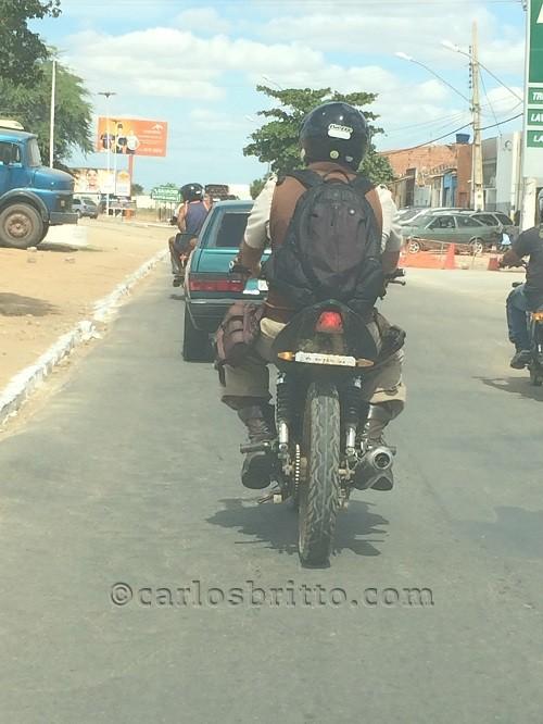 PM em moto Juazeiro