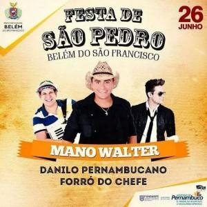 São Pedro- Belém do São francisco