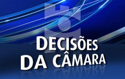 Decises do Cmara