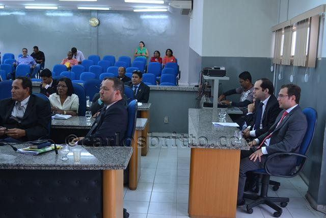 Veradores e representantes Ministério público Federal