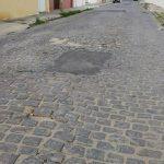 calçamento esburacado rua cohab II 2