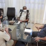 Paulo Bomfim busca parceria com Exército e Polícia Militar no enfrentamento ao coronavírus em Juazeiro