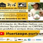 palestra sobre criação de abelhas nativas IF Sertão Ouricuri